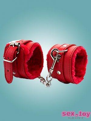 Flirt Toy Handcuffs For Bondage Sex Leather - sextoyinhyderabad.com