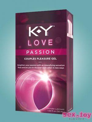 K-Y Love Passion Couples Pleasure Gel (100ml) - sextoyinhyderabad.com