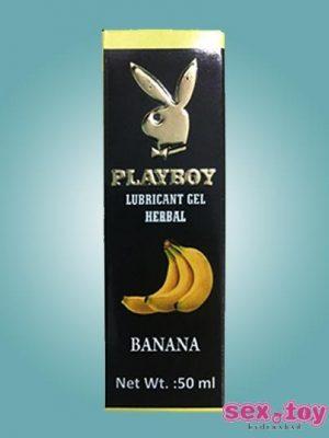 Playboy Lubricant Water Based Gel Banana Flavoured - sextoyinhyderabad.com