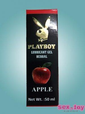 Playboy Lubricant Water Based Gel Apple Flavoured - sextoyinhyderabad.com