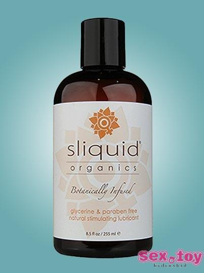Natural lubricating Silk Organic by Sliquid 125ml - sextoyinhyderabad.com